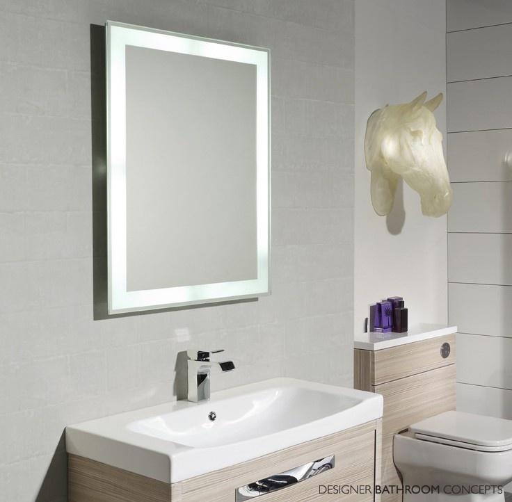Status Designer Illuminated Bathroom Mirror From Designerbathroomconcepts Com