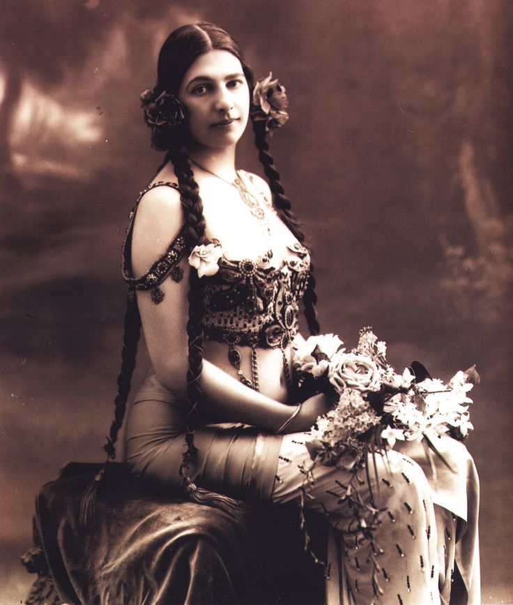 Mata Hari  Margaretha Geertruida Zelle was the wife of an officer in the Dutch colonial army. She studied eastern dances in Indonesia. Once back in Europe she became a celebrated performer of Javanese and Indian dances under the name of Mata Hari. Accused of espionage on behalf of Germany during World War I, she was executed by a firing squad in 1917 outside Paris.