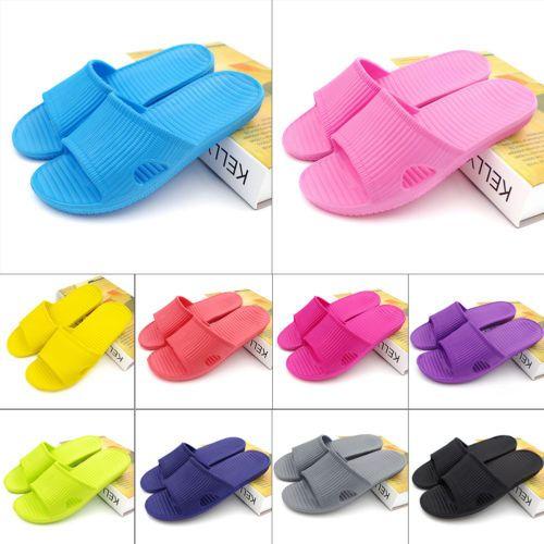 Hot-Soft-Summer-Sports-Beach-Shower-Sandals-Home-Bath-Slippers-Women-Men-Shoes