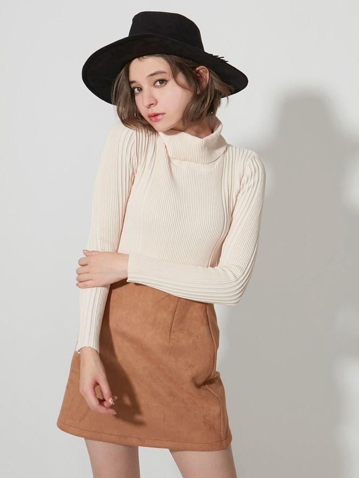 ダズリン|dazzlin公式ファッション通販|ランウェイチャンネルのボトムス(スカート)【sw】フェイクスエード台形スカートならRUNWAY channel(ランウェイチャンネル)。ダズリン|dazzlin公式ファッション通販|ランウェイチャンネルの新作からセールまで公式通販サイトならではの豊富な在庫!雑誌掲載や有名人着用商品も多数!
