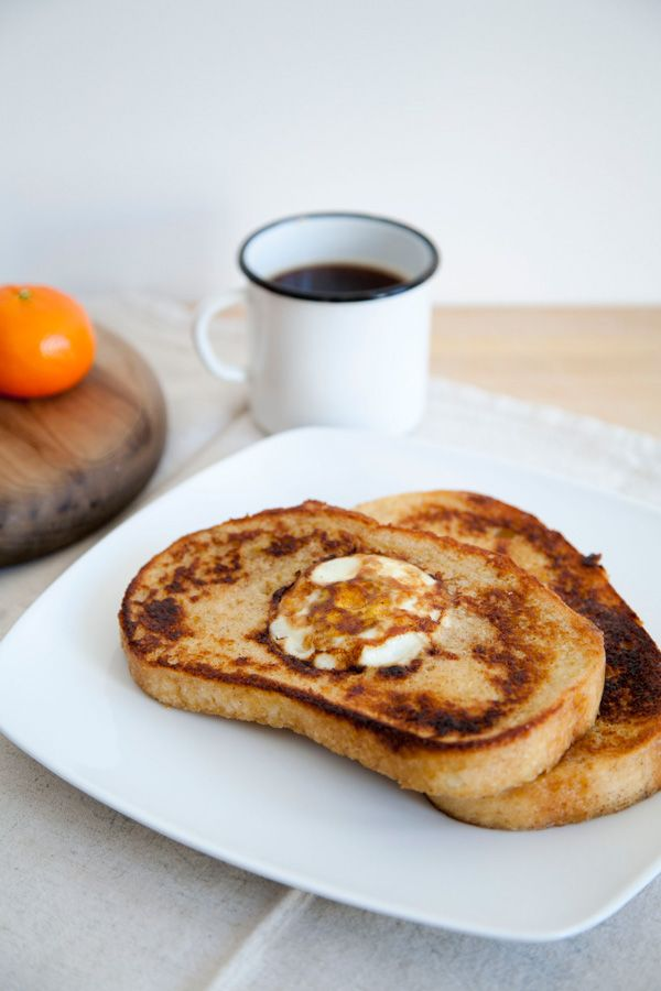 Egg in a basket french toast. my every morning breakfast.