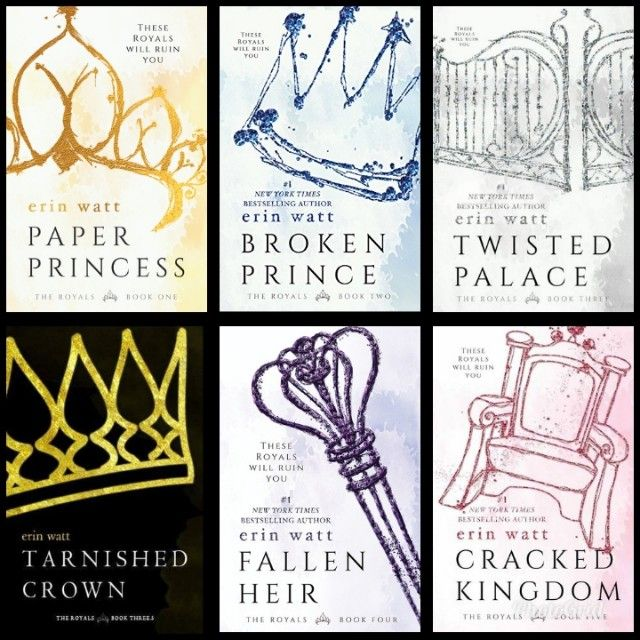 Royals Series By Erin Watt I Ve Read 4 Out Of The 5 Books I