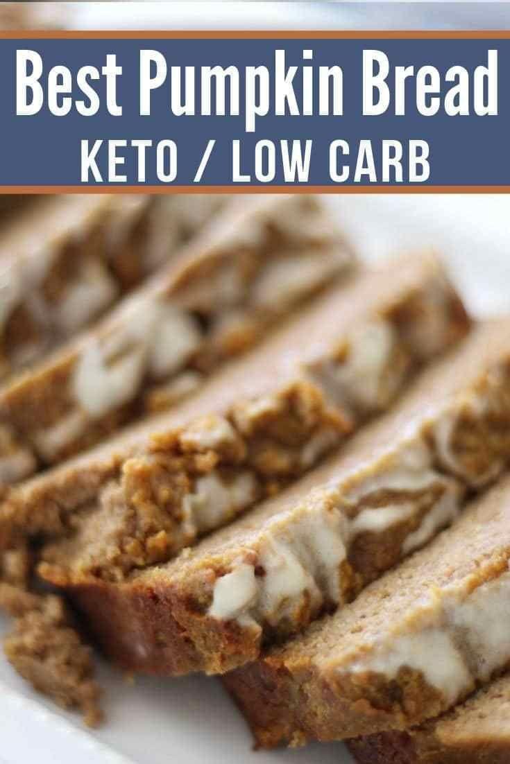 The Very Best Keto Pumpkin Bread Quick Easy Recipe Pumpkin