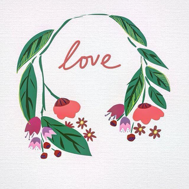 #шретерарт #иллюстрация #мое #digitalart #shreterart #illustration #flowers #love #spring #весна #любовь #цветочки #цветы