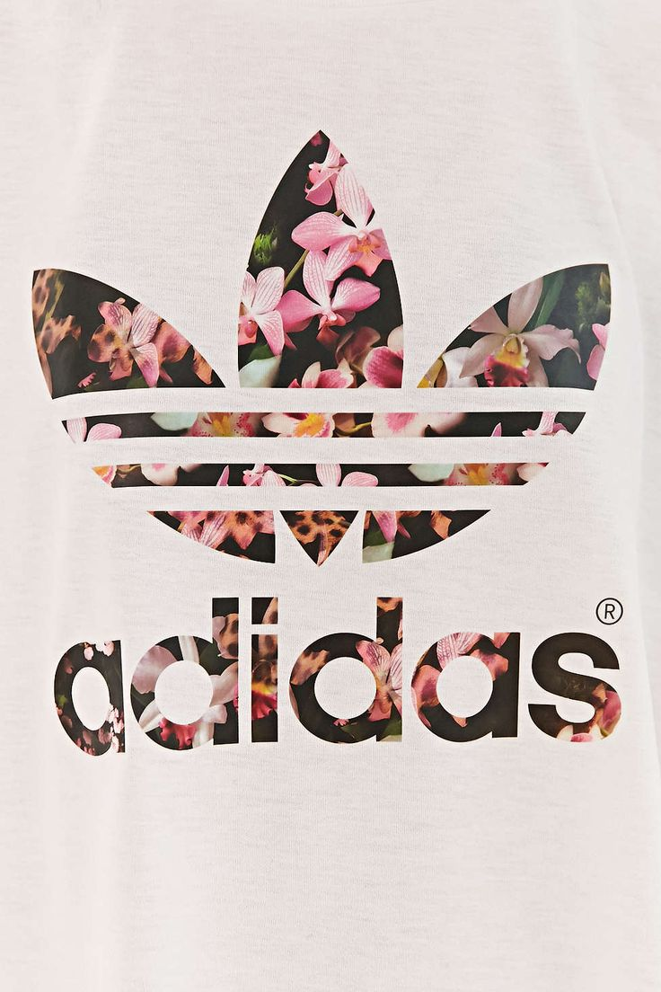 Adidas Orchid Cropped Tee Fashion Pinterest Adidas Urban And Orchids