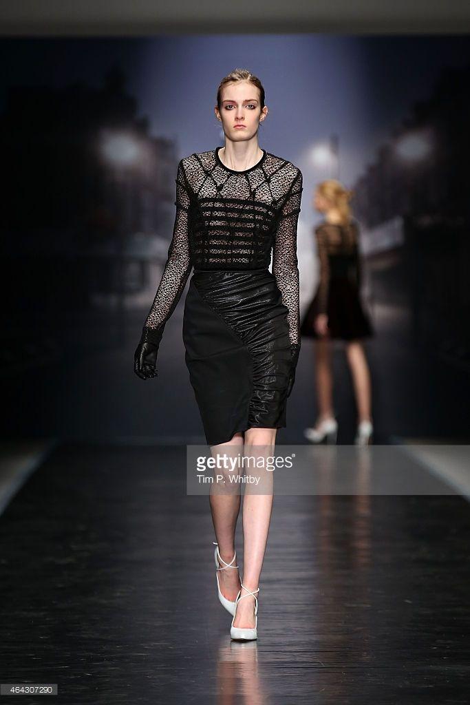 News Photo : model walks the runway at the Emilio de la Morena...