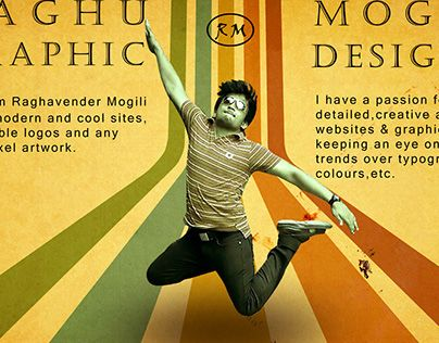 "Check out new work on my @Behance portfolio: ""Raghu Mogili"" http://on.be.net/1K3BgP7"