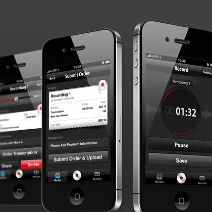 Transcriptera App