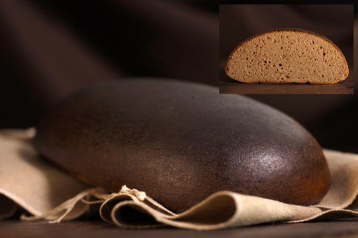 Хлеб Латгальский заварной на белорусской закваске