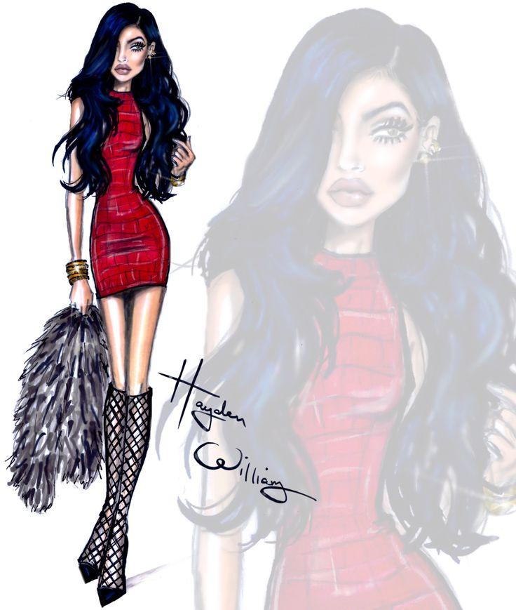 haydenwilliamsillustrations:  KUWTK by Hayden Williams: Kylie Jenner