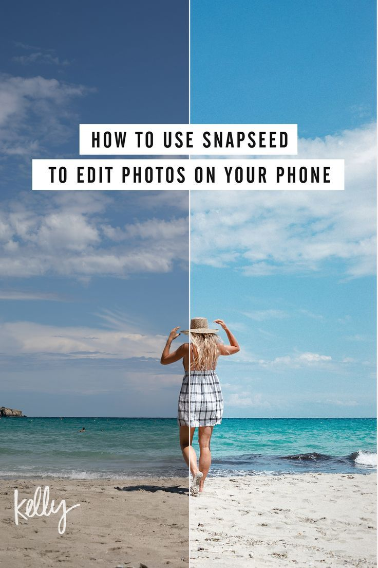 How to Use Snapseed to Edit Photos on Your Phone   Phone photo ...