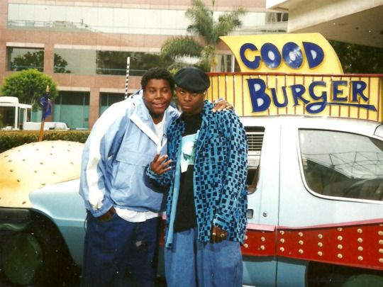 Kenan Thompson and Kel Mitchell in Good Burger, 1997