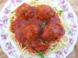 Easy Spaghetti and Meatballs: Spaghetti And Meatballs, Food Com, Jars Sauces, Easy Food, Meatballs Recipe, Easy Spaghetti, Flavored Meatballs, Prints Easy, Sauces Shhh I