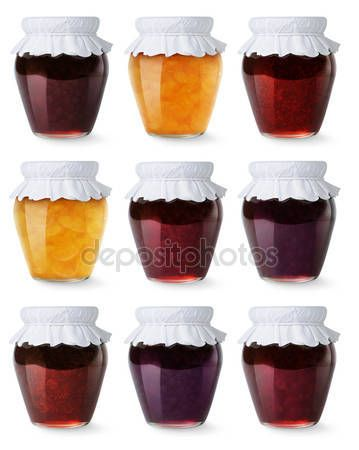 stockphoto8.com Royalty-free stock photos, images, illustrations, vectors - Collection of jam jars stock images and illustrations