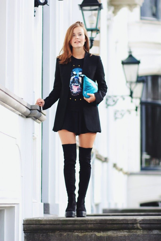 Sacha overknee boots by blogger Britta Maxime!