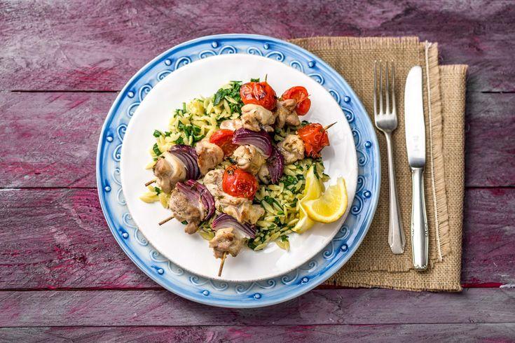 Garlic & Thyme Chicken Kebabs