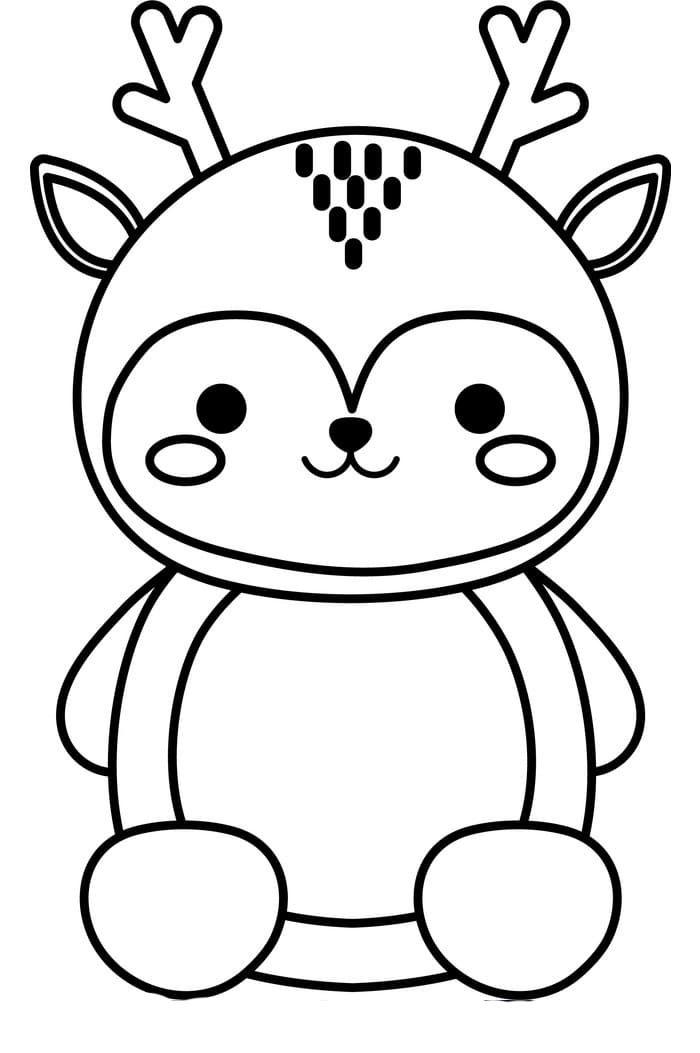 Dibujos De Kawaii Para Colorear Imprimir Caracteres Inusuales