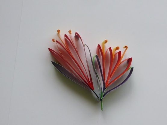 Paper Pohutukawa Flower Christmas Tree Ornament or gift decoration