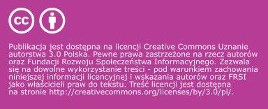 publikowanie tekstów na CC