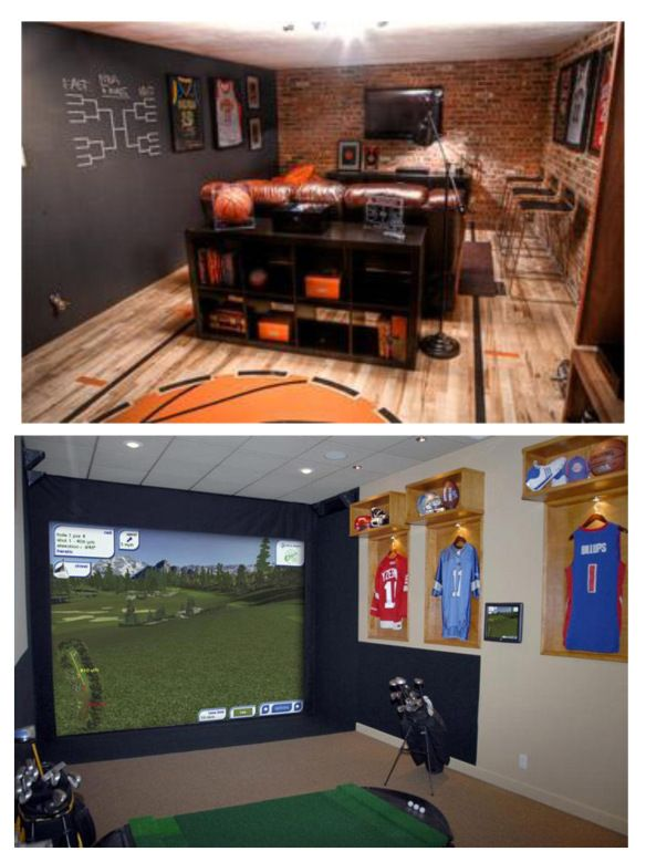 Inspiration sports room for Kids sports room
