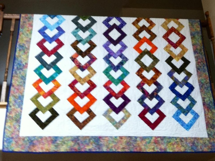 Strips Amp Salsa Quilt Pattern Pieced And Quilted At