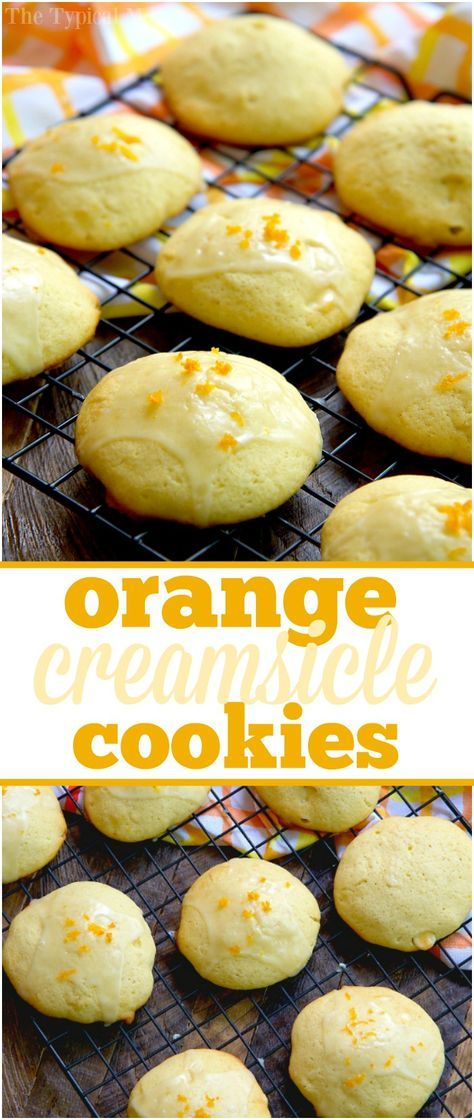 Easy orange creamsicle cookies taste just like the popsicles you love! Using orange juice and a few other ingredients they're a great Summer dessert. #ad #tampicobossbaby #tampicoraiseaboss #tampicojuice /tampicoofficial/ via /thetypicalmom/