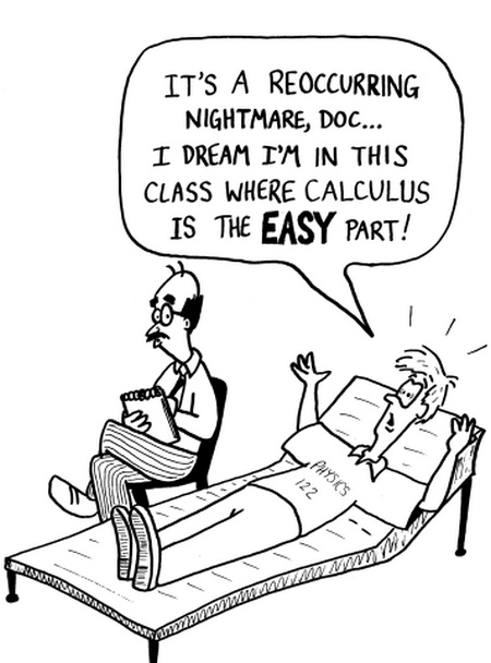 Really neat cartoons with reference to higher level mathematics.  Cool.  (I miss teaching)