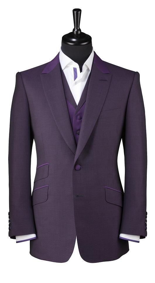 Is purple becoming a thing for suits now?  Cos if it is, and I had the money, I think Mr. Larix would look awesome in something like this.