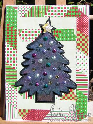 Love Layout and Christmas Tree by Jodie Mason