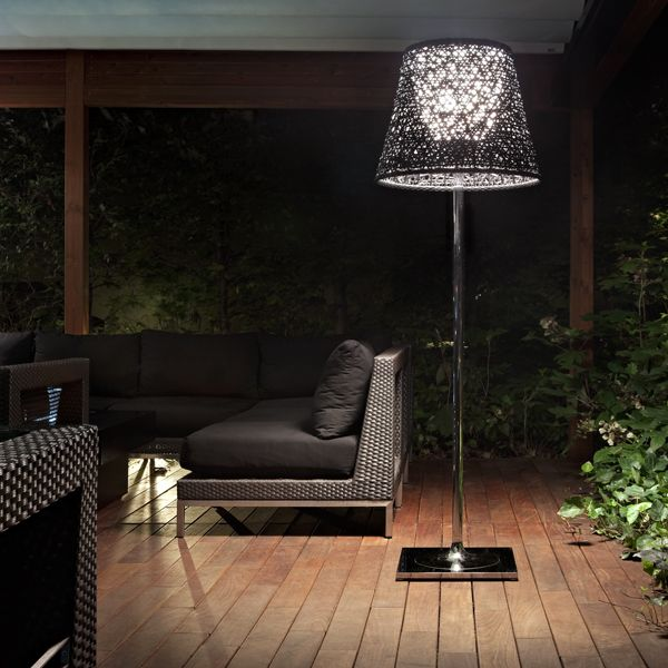 Ktribe Outdoor F3 Modern Outdoor Lamp designed by Philippe Starck for FLOS