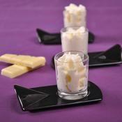 Mousse au chocolat blanc - une recette Découverte - Cuisine