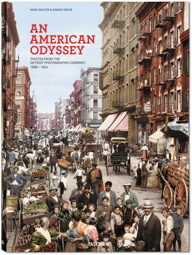 An American Odyssey Marc Walter, Sabine Arqué Hardcover with fold-outs, 11.4 x 15.6 in., 612 pages $ 200