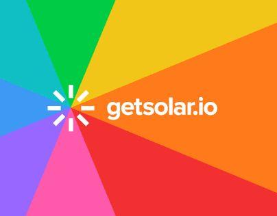 "Check out new work on my @Behance portfolio: ""getsolar.io"" http://be.net/gallery/59128221/getsolario"