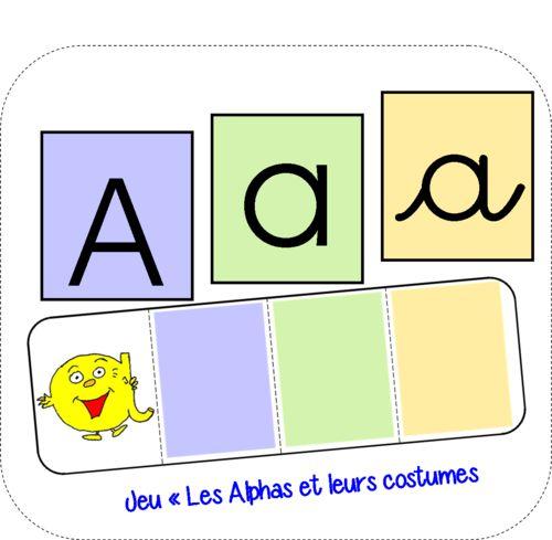 """Jeu """"Les Alphas et leurs costumes"""""""