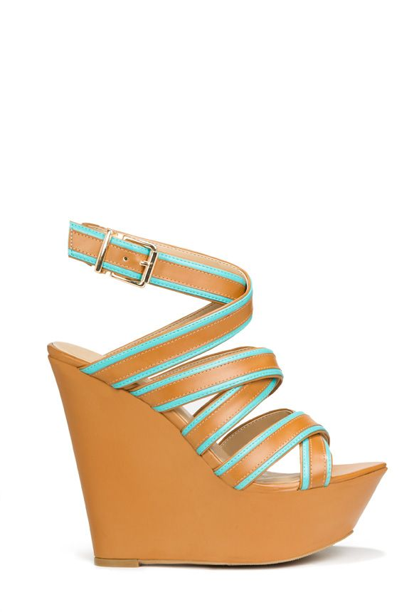 2bd4704e79bd Aquarius- May 2013 JustFab Style-Scope im Aquarius   I do LOVE this shoe!  Just my style- love a wedge best!