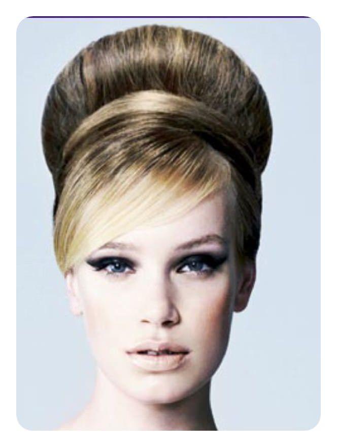 40 Easy Beehive Frisuren Von 1950 Bis 2018 Alles Fur Die Besten Frisuren Retro Haar Beehive Frisur Haar Styling