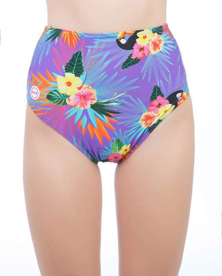 Hawai purple HWB #pcpswimwear