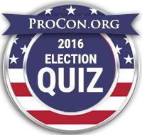 2016 Presidential Election Candidate Quiz - Find Your Match! - ProCon.org