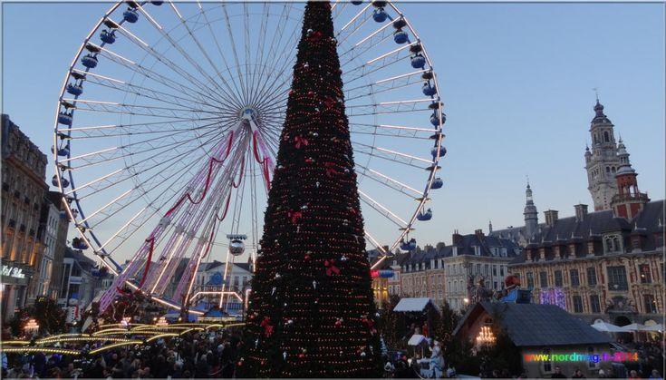 Marché de Noël, Lille, Nord Pas de Calais.