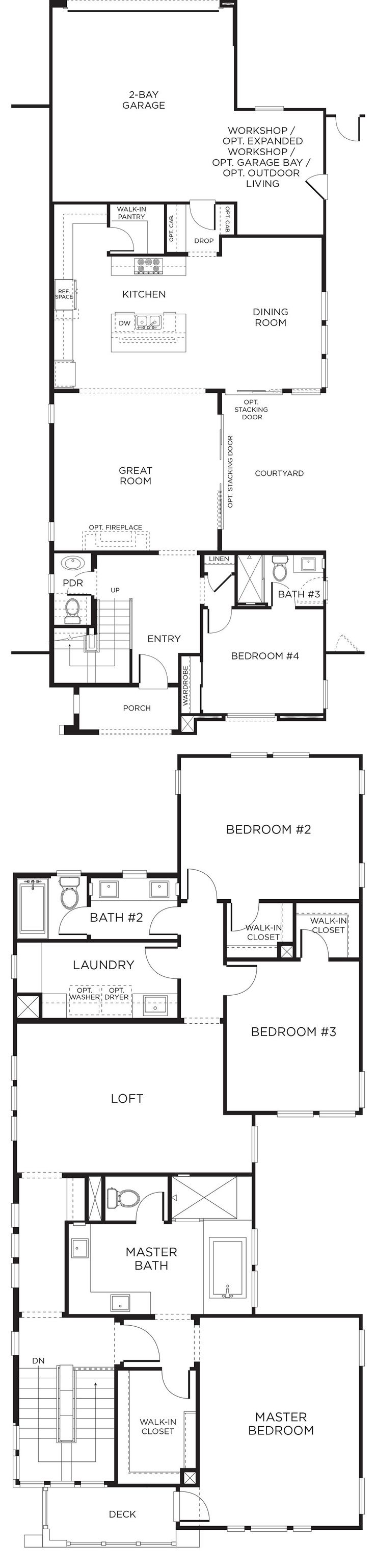 317 best san diego pardee homes images on pinterest san diego casava floor plan 2 pardee homes sandiego newhomes malvernweather Images