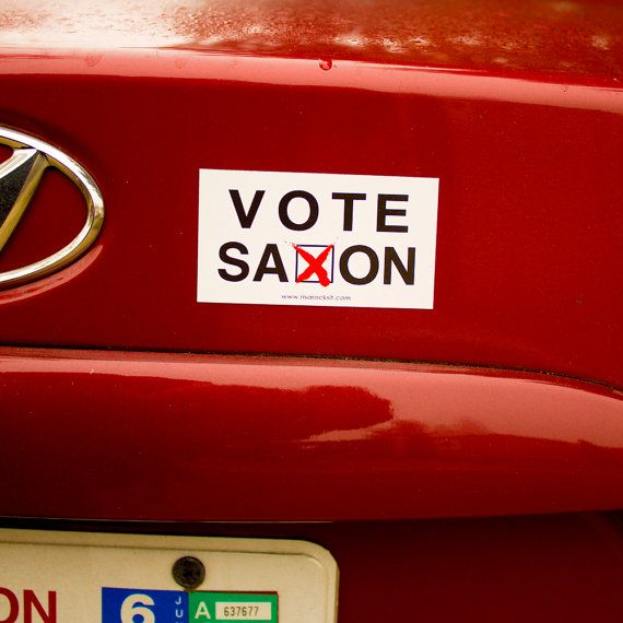 Doctor+Who+Inspired+Car+Magnet+Bumper+Sticker++Vote+by+RisaRocksIt,+$2.50