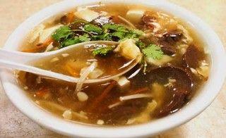 Chinesische Pilzsuppe