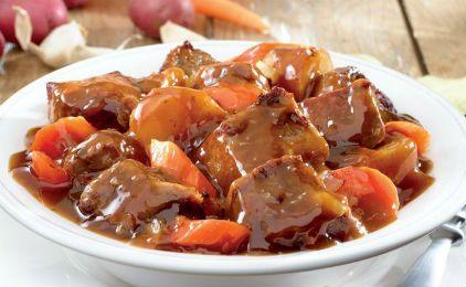 Μοσχαράκι με κόκκινη σάλτσα
