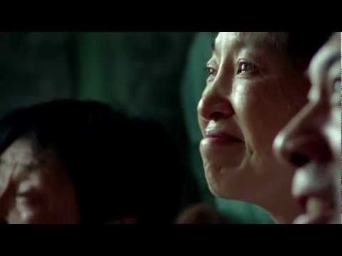 """The Proctor and Gamble Olympics Commercial """"Best Job in the World.""""  A great tribute to moms.  P has a whole series of """"Thank you, Mom"""" spots you can see here http://www.youtube.com/user/ProcterGamble/videos?query=thank+you+mom, but this one is my favorite."""