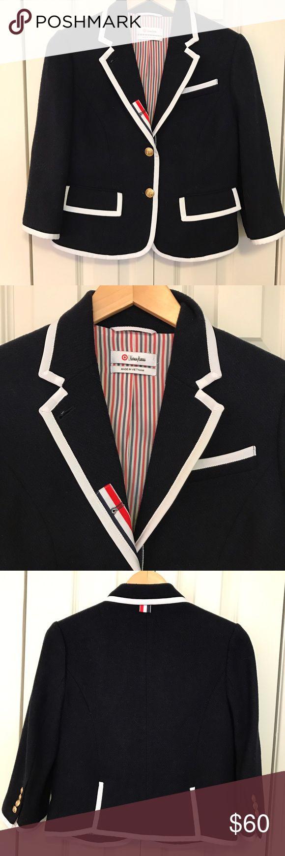 Spotted while shopping on Poshmark: Thom Brown Nieman Marcus for Target Blazer! #poshmark #fashion #shopping #style #Thom Browne #Jackets & Blazers