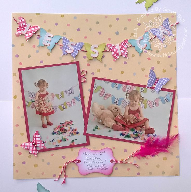 Designed by Sarah Bell for Fiskarettes Uk using Fiskars Butterfly squeeze Punch and 3 in 1 Tag maker label punch