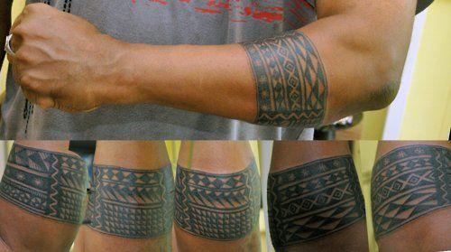 Forearmband tat | Forearm band