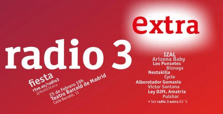 Fiesta Radio 3 Extra en Madrid
