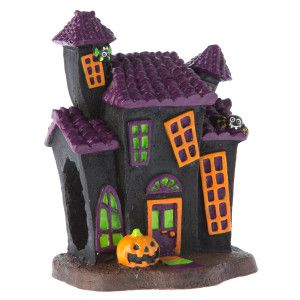 Top Fin® Pet Halloween Haunted House Aquarium Ornament