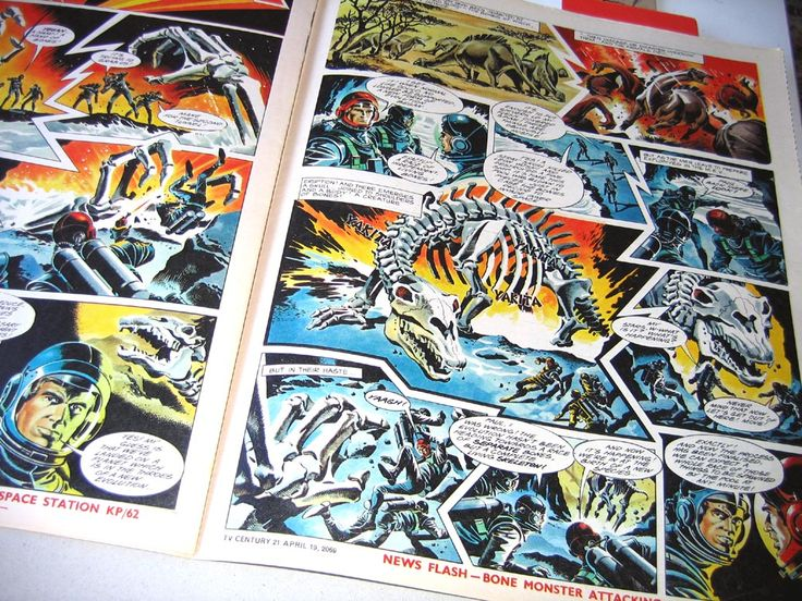 Dinosaurs Attack! From Zero X by Mike Noble #BestofBritishComics